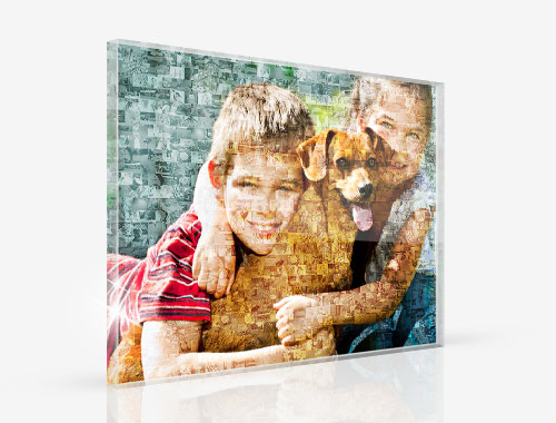 Photo Plexiglas Mosaique