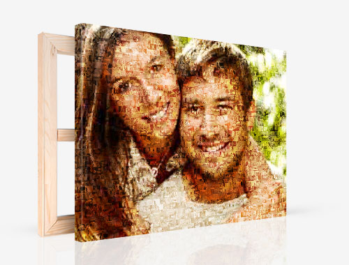 Toile Photo Mosaique