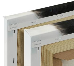 Toile 2-4cm cadre en bois