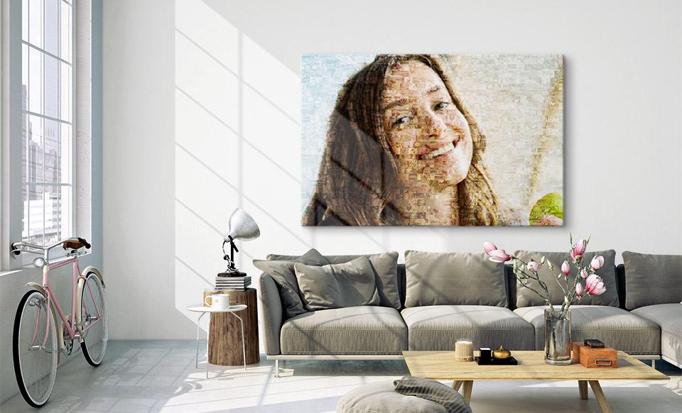 logiciel mosaique photo salon