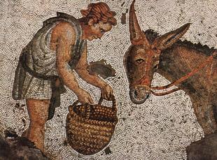 mosaïque classique de l'Antiquité
