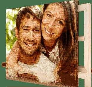 Photo-mosaique-toile-couple